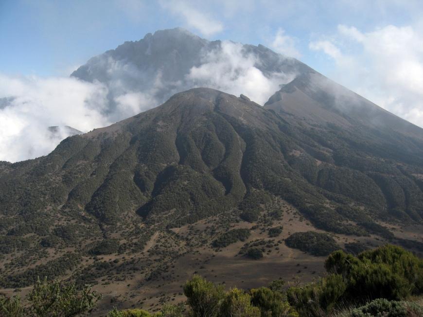 Kili Footprints - Mount Meru