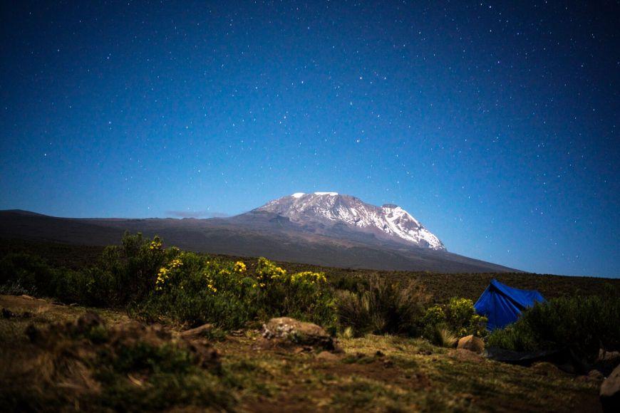 Mount Kilimanjaro Kibo Peak