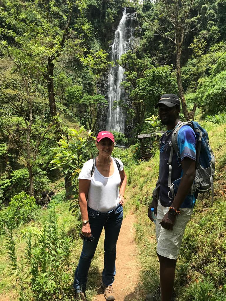 Materuni Waterfalls and Coffee Farm Cycling Tour